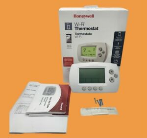 Honeywell Home Wi-Fi 7-Day Programmable Thermostat W/ App RTH6580WF OPEN BOX EUC