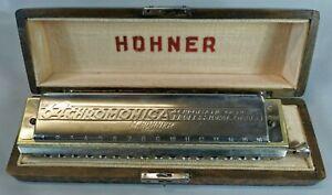 HARMONICA Chromatique HOHNER model The 64 Chromonica 4 Chromatic Octaves music S