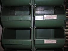 TERRY n4 CONTENITORI PORTAMINUTERIE PLASTICA COMPONIBILI SOVRAPPONIBILI 21x33x16