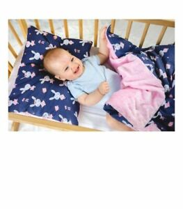 Baby set, pillow with blanket, size 50/75, 75/100