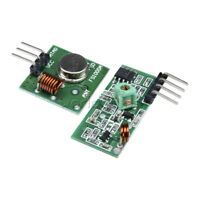 5PCS 433Mhz RF transmitter and receiver kit Module for Raspberry Arduino ARM MCU