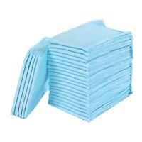 100Pcs Super Absorbent Pet Diaper Dog Training Pee Pads Disposable Healthy O5X7