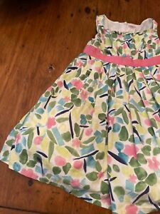 Gymboree girls dress 5T floral sleeveless lined