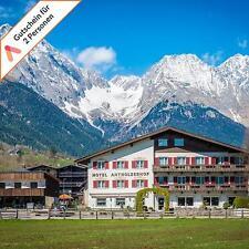 Kurzurlaub Südtirol Dolomiten 5 Tage Wellness Hotel Halbpension 2 Personen Pool