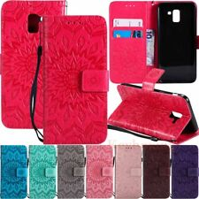 For Samsung Galaxy J3 J4 J6 J7 Duo J8 2018 Wallet Flip Stand Leather Case Cover