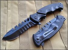 MTECH XTREME SPRING ASSIST 2.5 MM THICK BLADE TACTICAL KNIFE 5 INCH CLOSED 440