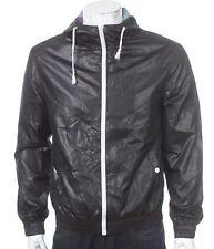 ASOS windbreaker jacket - size M - shiny nylon - wetlook - glanz