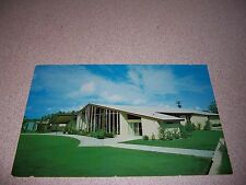1960s Hughlett Hall First Methodist Church Cocoa Florida Vtg Postcard
