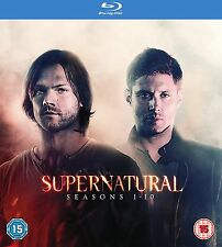 Supernatural: Complete Season (Series) 1 2 3 4 5 & 6 7 8 9 10 Box Set | Blu-ray