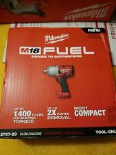 "NEW Milwaukee 2767-20 M18 FUEL 1/2"" High Torque Impact Wrench with Friction Ring"