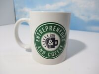 Entrepreneur And Coffee Mug Cup White Green Hustling Reselling