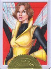 Marvel Dangerous Divas Rhiannon Owens sketch card