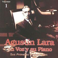 Lara, Agustin : Su Voz Y Su Piano Volume 1: Sus Primeras CD