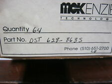 DST628-863S QTY 64 MCKENZIE TECHNOLOGY SOCKETS GOLD LEADS RARE FACTORY BOX