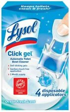Lysol *Automatic Toilet Bowl Cleaning Click Gel, Ocean Fresh Scent, 4 Count