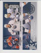 2009-10 Collector's Choice Hockey Reserve Hemsky Souray Gagner #212 Oilers NM