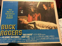 "1979 BUCK ROGERS 14x11"" Lobby Card FN-/FN Gil Gerard, Erin Gray LOT of 3"