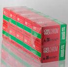 10 rolls ORWO CHROM UT18 36exp slide color film reversal expired 135 35mm ISO50