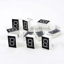 "10 pezzi 10 Pin 1 Bit 7 segmenti 0.5 ""display a led rossi tubo digitale HK"