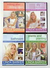 Linda Barker Solutions 4 DVD Bundle Diy Sitting Dining Room Bathroom Planting