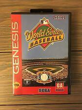 World Series Baseball (Sega Genesis, 1994)