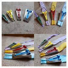 Lot 4 Appareil A Biais Fusible Pr Ruban Fabriquer Outil Tape Maker 6/12/18/25mm