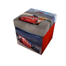 Pouf Contenitore Cars Disney Pixar Smart Box salvaspazio S174