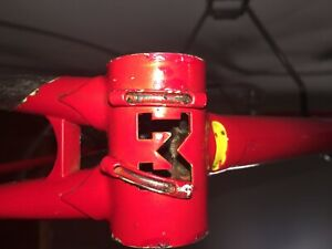 masi prestige road bike vintage 54 fork and frame red beautiful paint lugged