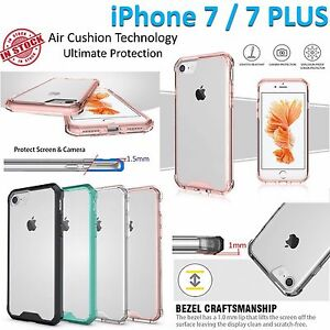 iPhone 7 Case 7 Plus Apple Air Cushion Clear Transparent Phone Cover Shockproof