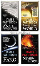 THE BEST OF MAXIMUM RIDE Angel,Fang,World,Nevermore (mm,pb) James Patterson NEW