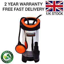 Terratek 1100 W Universal sucio/bomba de agua limpia Eléctrico Automático Sumergible