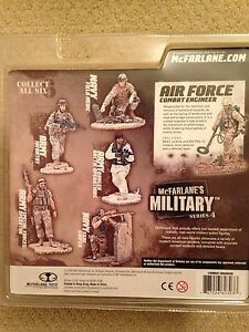 Mcfarlane Military Series 4 Complete Unopened Action Figure Collection