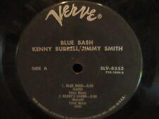 """Kenny Burrell/Jimmy Smith 'Blue Bash'  7"""" 33 1/3"""
