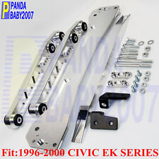 ASR REAR LOWER CONTROL ARM KIT SUBFRAME BRACE TIE BAR 96-00 CIVIC EK DX EX SI SL