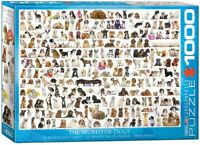 World Of Dogs 1000 piece jigsaw puzzle 490mm x 680mm (pz)