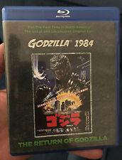 Godzilla 1984: The Return Of Godzilla Blu-ray Disc Toho Kraken