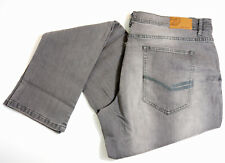 John Devin JD Jeans W40 L36 Grau Grey Used Slim Fit Men Stretch Denim Hose Neu