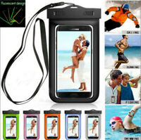 Universal Waterproof Underwater Pouch Bag Pack Case For Cell Phone iPhone Tools