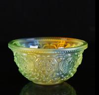 Tibetan Buddhism  Tantric  Glass  Eight auspicious  Holy water bowl