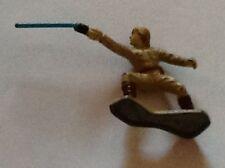 "LFL Luke Skywalker Star Wars 1"" Mini Metal Figurine with Light Saber 1982 NICE!"