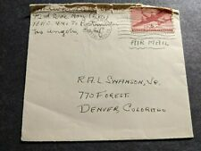 Apo 441 Los Angeles, Calif 1943 Wwii Army Cover 92nd Hospital (Sm)