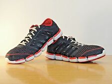 Men Adidas 11 Clima Cool Black Red  Shoe Sneakers Running Jogging Mesh Trainer