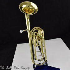 Vintage King H. N. White Trombonium Marching Trombone Unique!