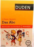Übungsblock Deutsch + Das ABC + Training + Nachhilfe + Original DUDEN + 1.Klasse