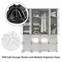 DIY Modular Connectors for Closet Organizer Wardrobe Clothes Storage Cabinet