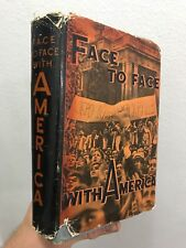Face to Face With America Kharlamov & Vadeyev 1959 Hardcover