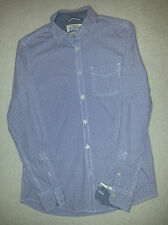 BNWOT ST GEORGE BY DUFFER CHECK LILAC SHIRT SIZE S