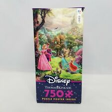 Thomas Kinkade Disney Sleeping Beauty Ceaco 750 Piece Jigsaw Puzzle