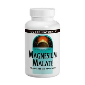Source Naturals, Magnesium Malate, 625mg, 100 Capsules