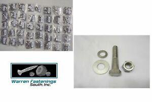 3365PC Grade 5 Coarse Thread Bolt, Washer, Nut & Stop Nut Assortment